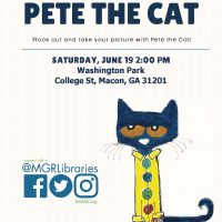 Middle Georgia Regional Library Welcomes Pete the Cat