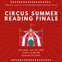 Animal Circus Summer Reading Finale