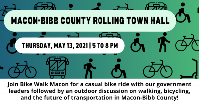 Macon-Bibb County Rolling Town Hall