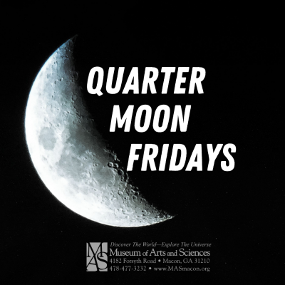 Quarter Moon Friday