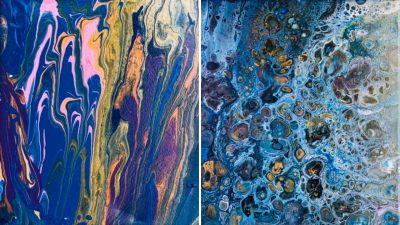 Acrylic Pour Painting Workshop