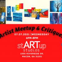 Artist Meetup & Critiques
