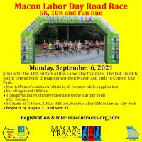 Macon Labor Day Road Race