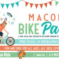 Macon Bike Party: Art Appreciation Ride