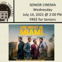 "Senior Cinema ""One Night in Miami"""