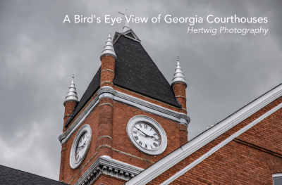 A Bird's Eye View of Georgia Courthouses by Hertwig Photography
