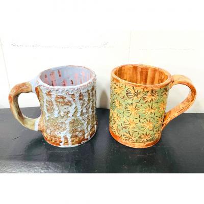 July 31st Textured Mug Class