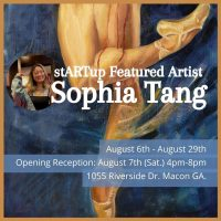 stARTup Featured Artist - Sophia Tang
