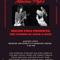 Macon Pops Presents: The Women of Rock & Soul