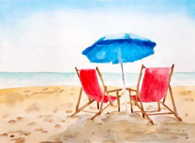 Watercolor & Wine