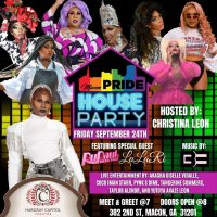 Macon Pride: House Party! w/Lala Ri