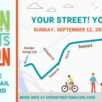 Open Streets Macon: Ocmulgee Heritage Trail + Boulevard