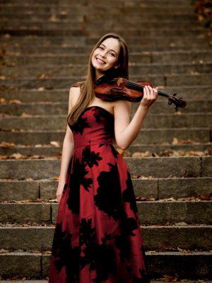 Geneva Lewis, violin and Chenny Gan, piano