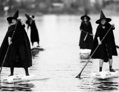 MACON WITCHES FLOAT