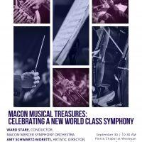 Macon Musical Treasures: Celebrating a New World Class Symphony