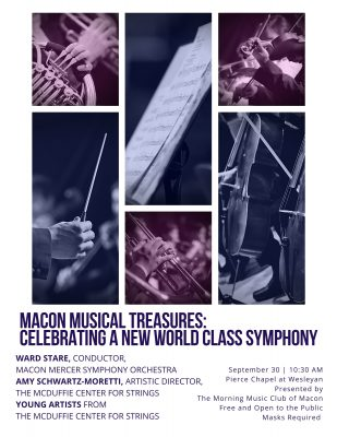 Macon Musical Treasures: Celebrating a New World C...