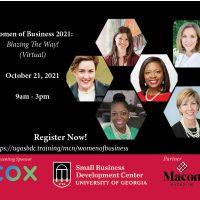 Women of Business 2021. Blazing the Way! (virtual)