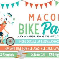 MACON BIKE PARTY - SPIRITS, SPECTACLES, AND SCANDALS