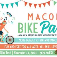 MACON BIKE PARTY - CRANKS & THANKS WITH BIKE TECH