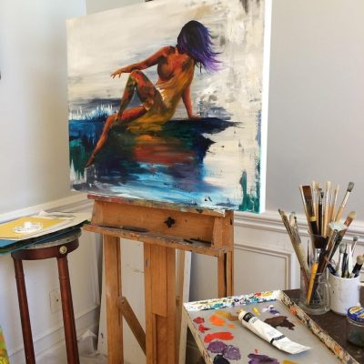 Figure Painting in Oil