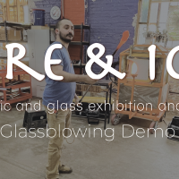 Glassblowing Demo at Fire & Ice 2021