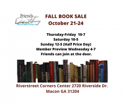 Friends of the Library Fall Book Sale