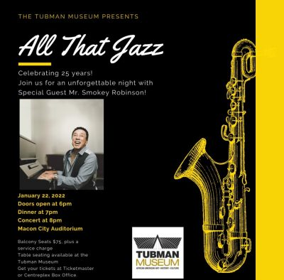 The Tubman Museum Presents: All That Jazz!