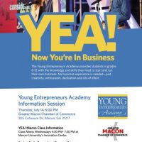 Young Entrepreneurs Academy Info Session