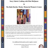 Story Fabric Crafting with Wini McQueen