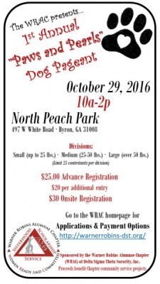 2016 Paws and Pearls Dog Pageant