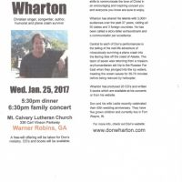 Free Family Concert by Don Wharton