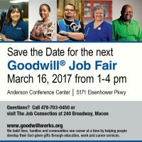 Goodwill Spring Job Fair