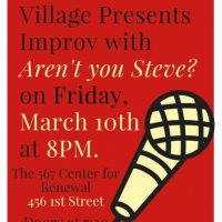 "Improv Show: ""Aren't You Steve?"""