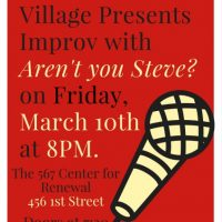 Improv with Aren't You Steve?