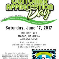ReStore Customer Appreciation Day