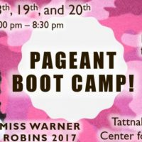 Pageant Camp with Miss Warner Robins 2017 Lyndsay Richardson