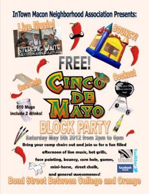 InTown Cinco De Mayo Block Party
