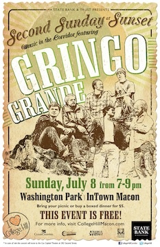 Second Sunday at Sunset featuring Gringo Grande