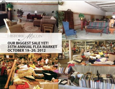 35th Annual Historic Macon Flea Market Sale