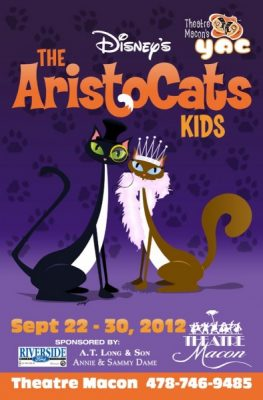"Youth actor's Company production of ""The Aristocats"""