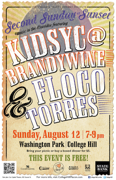 Second Sunday at Sunset featuring KidSyc@Brandywine and Floco Torres