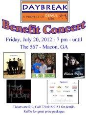 Daybreak Benefit Concert
