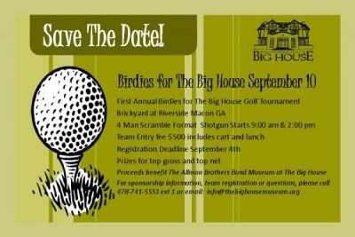 Birdies for The Big House Golf Tournament