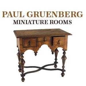 Paul Gruenberg Miniature Rooms exhibition