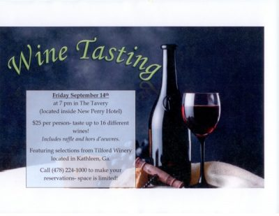 Wine Tasting at The Tavery