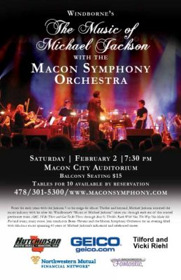 """""""The Music of Michael Jackson,"""" presented by the MSO"""
