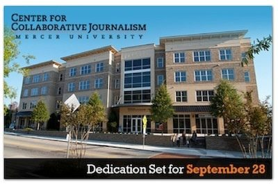 Center for Collaborative  Journalism Dedication