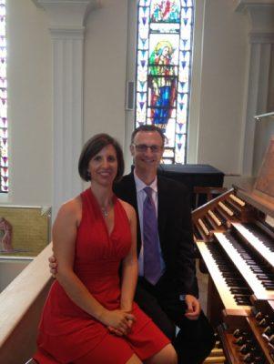 Organ Duo, Edie Johnson and Jason Overall