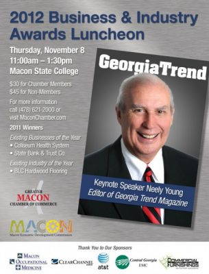 2012 Existing Business & Industry Awards Luncheon