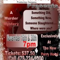 Interactive Murder Mystery Dinner Theater